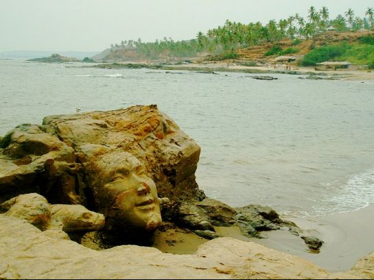 Goa photos, Vagator Beach - Lord Shiva