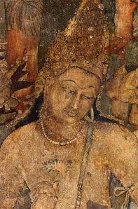 Ajanta photos, Ajanta - A Painting of Padmapani
