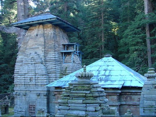 Jageshwar photos, Jageshwar Mahadev - Built using stone blocks