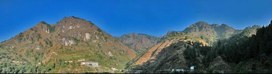 Kalsi photos, Chakrata - A Distant View