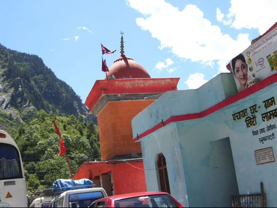 Yamunotri photos, Hanuman Chatti - A Side View