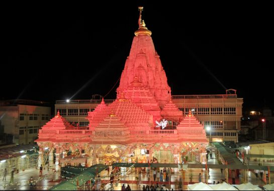 Ambaji photos, ambaji Temple - During Night Time