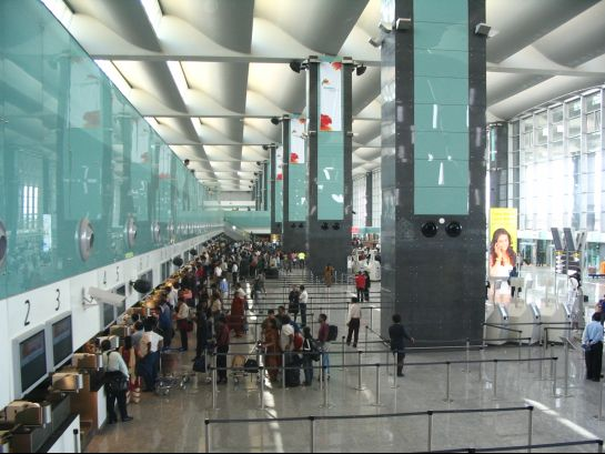 Bangalore photos, Bengaluru International Airport - Inner view