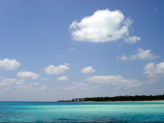 Lakshadweep photos, Bangaram - Pristine Sea