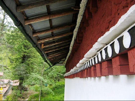Lachung photos, Lachung Monastery - Side View