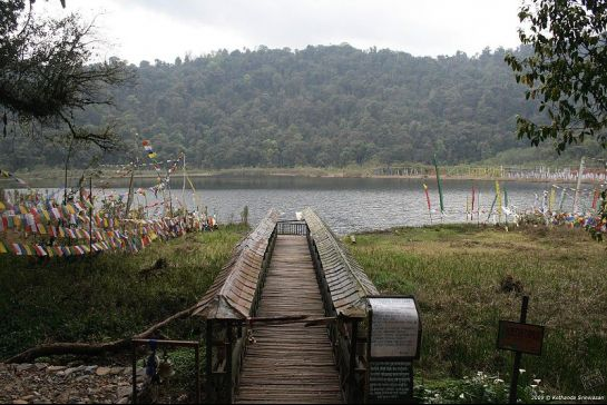 Yuksom photos, Khecheopalri Lake - Foot Bridge