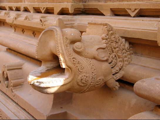 Jaisalmer photos, Lodurva - Structure