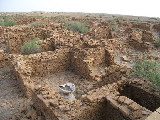 Jaisalmer photos, Kuldhara - Ruins of Houses