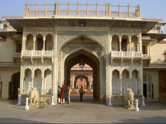 Jaipur photos, City Palace - Walls of the Palace