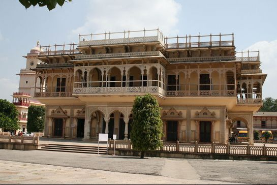 Jaipur photos, City Palace - Mubarak Mahal