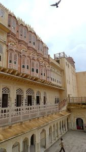 Jaipur photos, Hawa Mahal - Side View