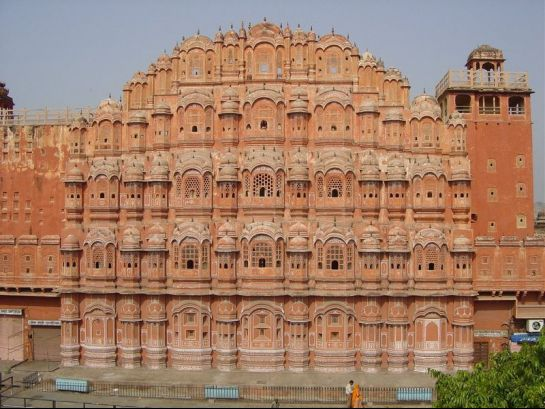 Jaipur photos, Hawa Mahal - Closer View