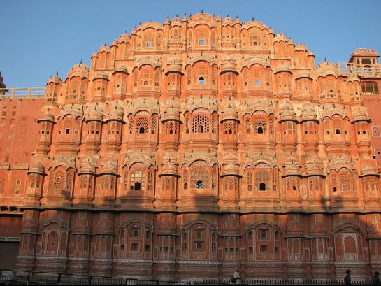 Jaipur photos, Hawa Mahal - A View