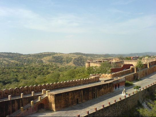 Jaipur photos, Amber Fort - Amar Fort Walls