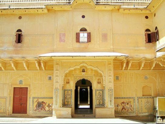 Jaipur photos, Nahargarh Fort - Artistic Walls