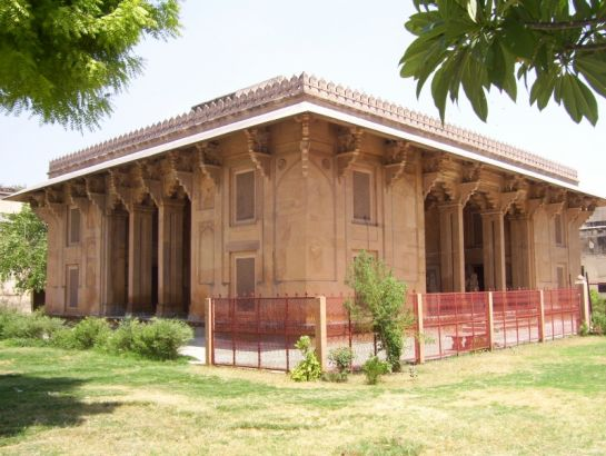 Ajmer photos, Archaeological Museum - Side View
