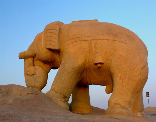 Tonk photos, Hathi Bhata - Carved out of a single stone