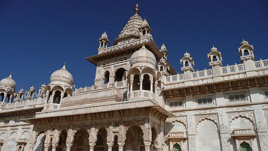 Jodhpur photos, Jaswant Thada - Artistically Carved