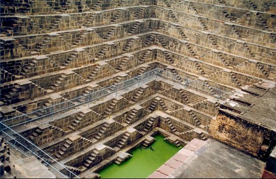 Abhaneri photos, Chand Baori - Charming