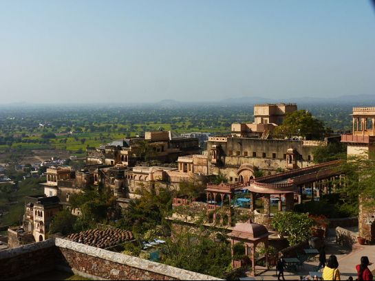 Kesroli photos, Neemrana Hill Fort - Complete View
