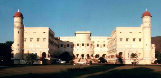 Sariska photos, Sariska Palace - Front view