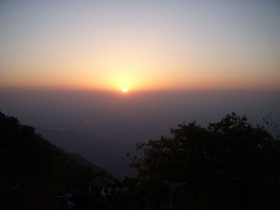 Mount Abu photos, Sunset Point - Twilight