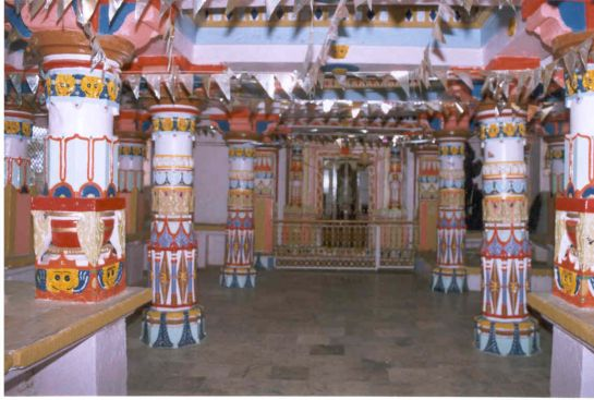 Banswara photos, Cheench Brahma Temple - Interiors