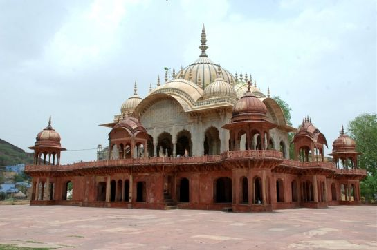 Alwar photos, Moosi Maharani ki Chhatri - Artistic Structure