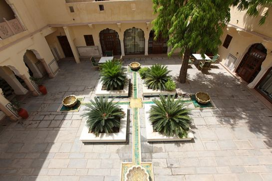 Jaipur photos, Samode Palace - Courtyard