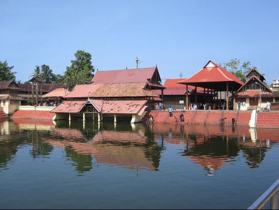 Alleppey photos, Ambalapuzha Sree Krishna Temple - A Beautiful View