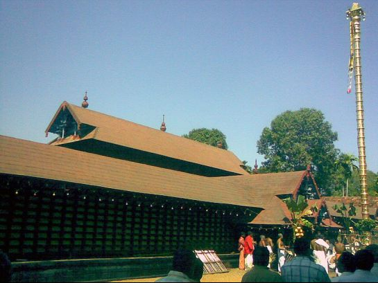 Thiruvalla photos, Kaviyoor Mahadeva Temple - Exterior View