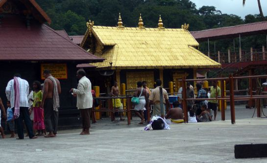 Sabarimala photos, Ayyappa Temple - Sreekovil