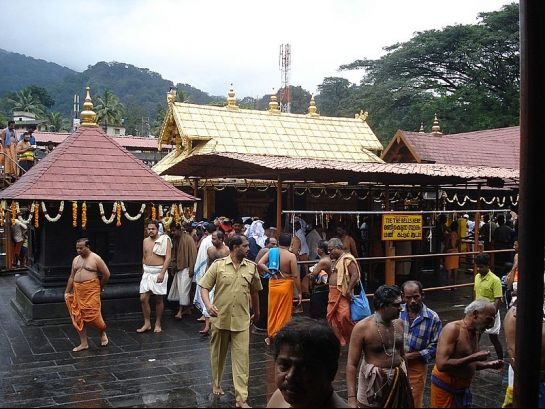 Sabarimala photos, Ayyappa Temple - Devotees