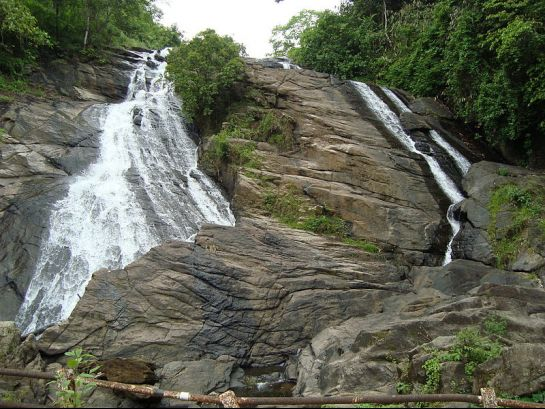 Thrissur photos, Charpa Falls - Naturally Sculptured Rocks