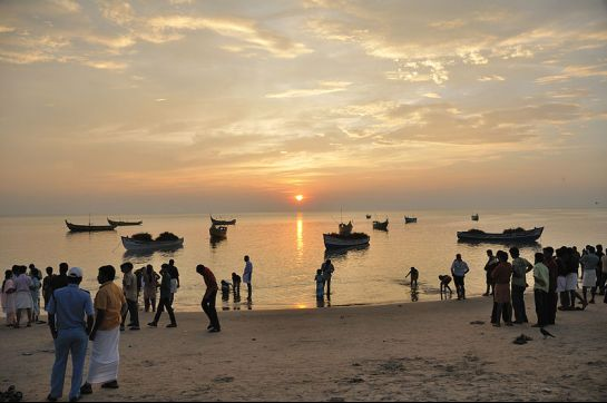 Thrissur photos, Chavakkad Beach - Sunset