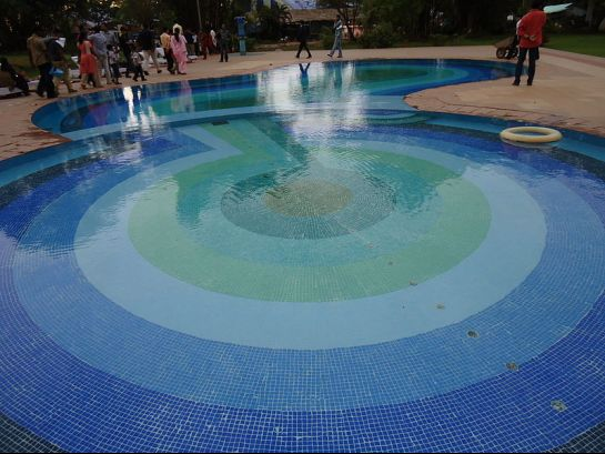 Kochi photos, Bolghatty Palace - Swimming pool