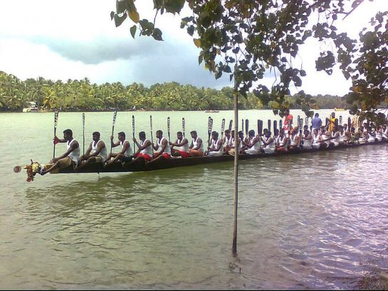 Kollam photos, Munroe Island - Boat Race