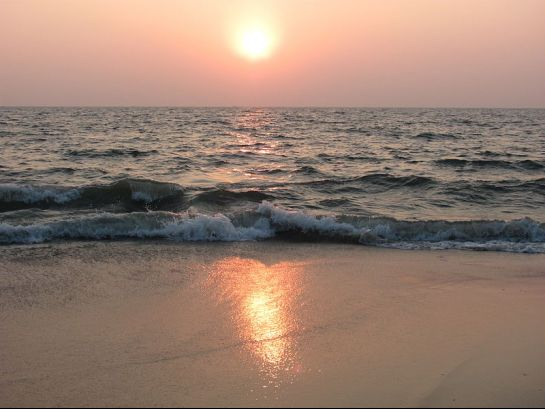 Alleppey photos, Alleppey beach - Sunset