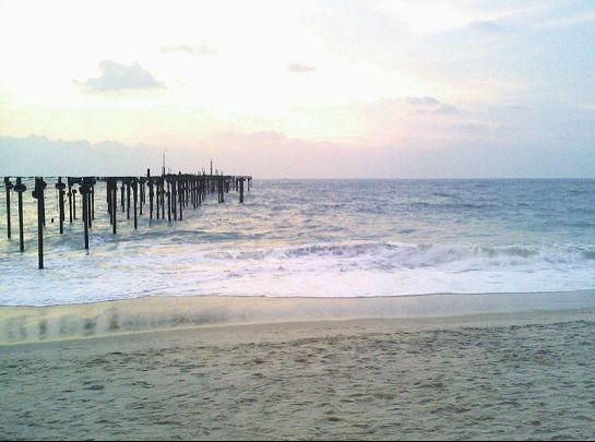 Alleppey photos, Alappey Beach During Daytime