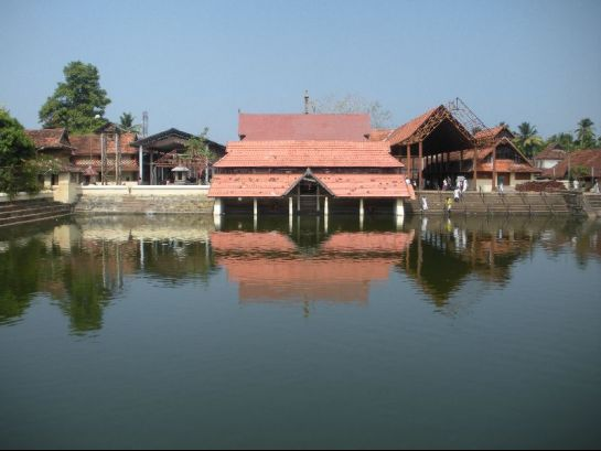 Alleppey photos, Ambalapuzha Sree Krishna Temple - A Distant View