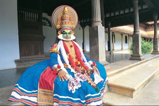 Thiruvalla photos, Sri Vallabha Temple - Kathakkali