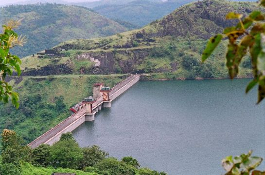 Idukki photos, Cheruthoni Dam - The Dam From A Distance