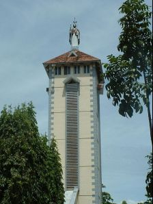 Kochi photos, St. Mary's Cathedral Basilica - Bell Tower