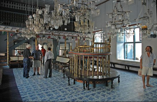 Kochi photos, Jew Town - Jewish Synagogue