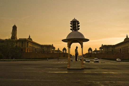 Delhi photos, Rajpath - Vijay Chowk