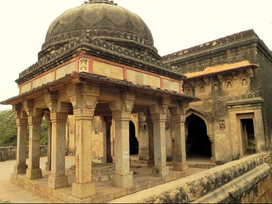 Delhi photos, Mehrauli Archaeological Park - Rajon ki Bain