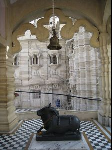 Delhi photos, Chattarpur Mandir - Nandi