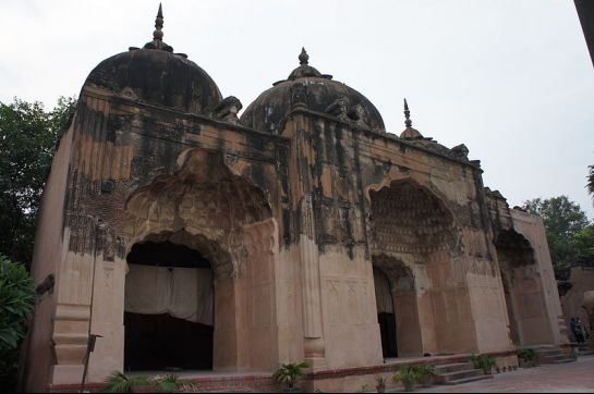 Delhi photos, Qudsia Bagh - Qudsia Mosque