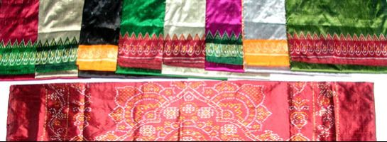 Pochampally photos, pochampally - Vibrant Silk Sarees