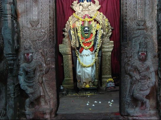 Lepakshi photos, Veerabhadra temple - Idol